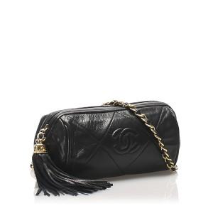 Matelasse Lambskin Leather Crossbody Bag