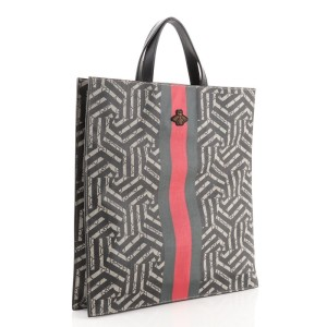 Gucci Convertible Soft Open Tote Caleido GG Coated Canvas