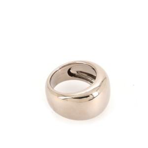 Cartier Nouvelle Berg Band Ring 18K White Gold 6 - 52