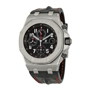 Audemars Piguet Royal Oak Offshore Stainless Steel & Leather 42mm Watch