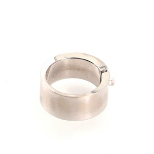 Chaumet Liens Evidence Wedding Band Ring 18K White Gold 6.75 - 54