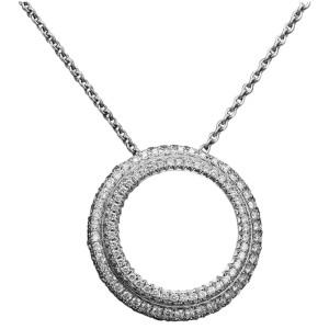 Piaget 18K White Gold Diamond Necklace G33P0070