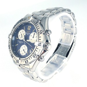 Breitling Colt Chronograph Stainless Steel Quartz 41mm Mens Watch