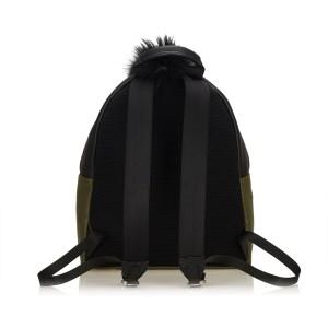 Fur Trimmed Monster Backpack