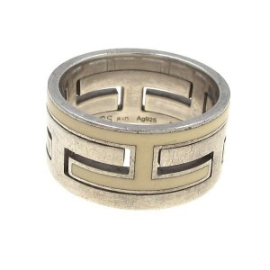 Hermes Move Ash Silver Ring