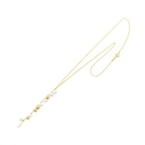 4C 18K Yellow gold Baby Pearl Necklace