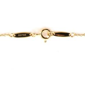 Tiffany & Co. Elsa Peretti Diamonds By The Yard Pendant Necklace 18K Yellow Gold with Diamond .05CT
