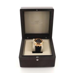 Audemars Piguet Royal Oak Dual Time Automatic Watch Rose Gold and Alligator 39
