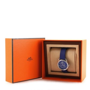 Hermes Arceau Casaque Quartz Watch Stainless Steel and Leather 36