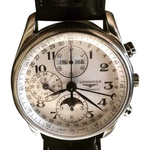 Longines Master Collection Stainless Steel & Leather 40mm Watch