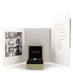 Van Cleef & Arpels Sweet Alhambra Bracelet 18K White Gold and Diamonds