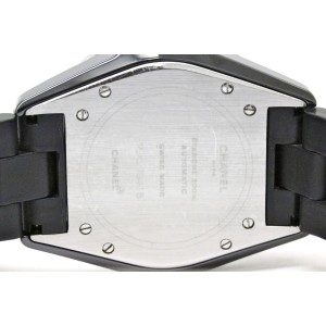 Chanel J12 H0684 Ceramic & Rubber Automatic 39mm Mens Watch