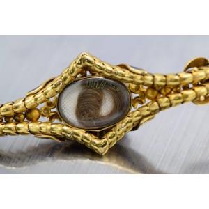 Hunt & Roskell Victorian Cabochon Garnet Bracelet