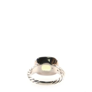 David Yurman Noblesse Ring Sterling Silver with Quartz and Diamonds 10mm 5.75 - 51