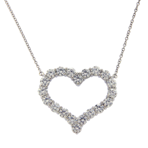 Tiffany & Co. 950 Platinum 1.96ctw Diamond Necklace