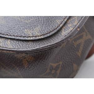 Louis Vuitton Monogram Saint Cloud PM Shoulder Bag M51244