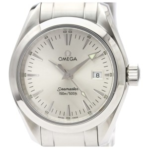 OMEGA Seamaster Aqua Terra Steel Quartz Ladies Watch-- SKU WRTN