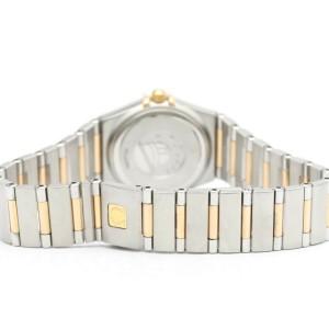 OMEGA Stainless steel/18K Pink Gold Diamond Constellation Watch HK-2143
