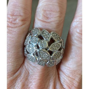 David Yurman Large Confetti Diamond Ring