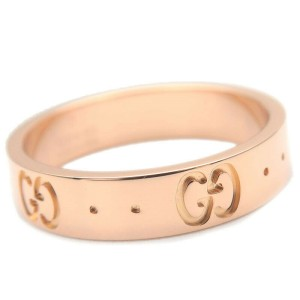 GUCCI K18 Rose Gold ICON Ring