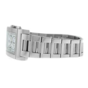 Men's Bvlgari Bulgari Rettangolo RTC49S Steel Chronograph Date Quartz Watch