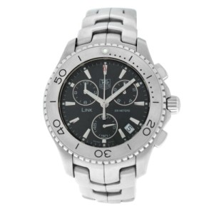 Men's Tag Heuer Link CJ1110 Stainless Steel Date 42MM Quartz Watch