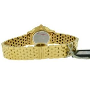 Ladies Frederique Constant Slimline Mini FC-200MCS5B Gold 25MM Quartz Watch