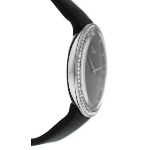Ladies' Christian Dior La D de Dior CD043114A002 Steel Diamond 38MM Quartz Watch