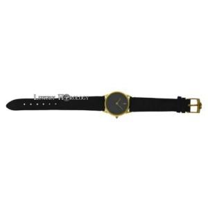 Ladies Corum Black Dial Solid  18K Yellow Gold Mechanical 28MM Watch