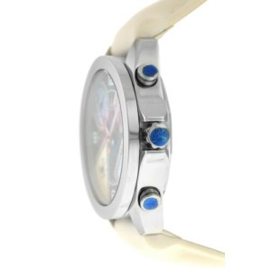 Unisex Jacob & Co. Five 5 Time Zone Watch JCM-54PDA Diamond Steel 40MM MOP