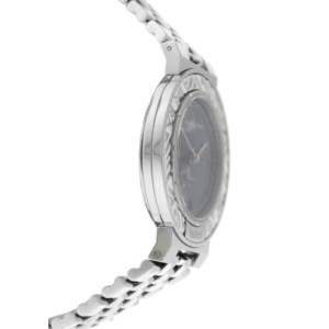 New Unisex Gerald Genta Retro Classic G.3339.7 Stainless Steel 34MM Quartz Watch