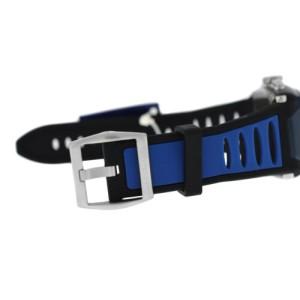 Locman Tremila Ref 550 Chronograph Men Titanium Blue PVD Quartz 38MM New Watch