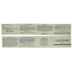 New Locman Montecristo Ref. 508 GMT World Titanium Men's Quartz 44MM Watch