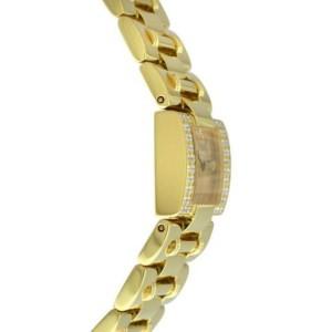 Ladies Piaget Dancer Carree 50011 K83 Diamond Solid 18K Gold 21MM 106 GR. Watch