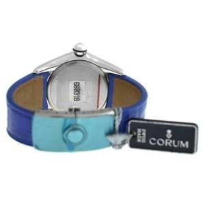 Men's Corum Bubble 163.150.20 0F02 Stainless Steel Date Quartz 45MM Watch