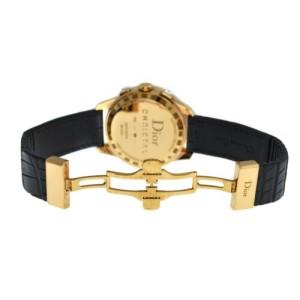 Ladies Christian Dior Christal CD114370 18K Solid Gold Diamond 39MM Watch