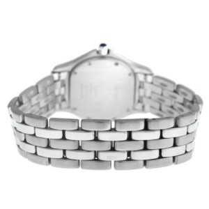 Unisex 33MM Cartier Panthere Cougar 987904 Quartz Stainless Steel Date Watch