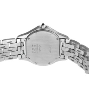 Unisex 33MM Cartier Panthere Cougar 987904 Quartz Steel Date Watch