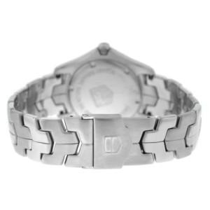 Men's Tag Heuer Link WJ1113-0 Stainless Steel Diamond Date 39MM Quartz Watch