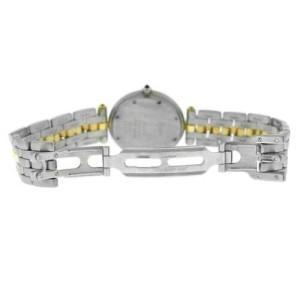 Ladies' Cartier Panthere Vendome 183964 One Row Gold Steel Quartz 30MM Watch