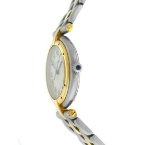 Ladies' Cartier Panthere Vendome One Row Gold Steel Quartz 30MM Watch