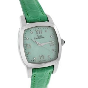 Daniel Jean Richard TV Screen Milady 95006-01-8144 MOP Diamond Quartz Watch