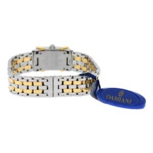 Ladies Damiani Ego Diamond 19MM Stainless Steel Gold Quartz Watch