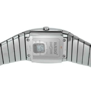 New Men's Rado Sintra R13777702 Ceramic Diamond 35MM Date Quartz $3,150 Watch