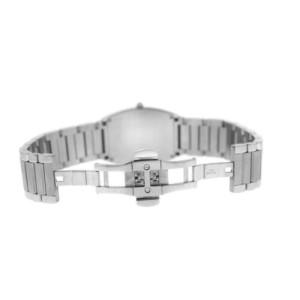 Unisex Tourneau 785 Stainless Steel Diamond 32MM Date Quartz Watch