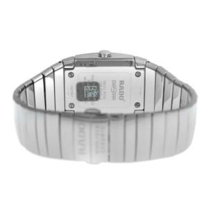 New Men's Rado Sintra R13720122 Ceramic 32MM Date Quartz $2,500 Watch