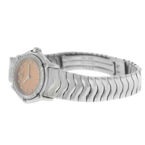 Ebel Sport Wave Steel Diamond Quartz Watch Ladies 23MM  9157115