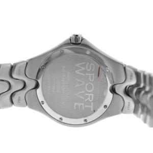 Men's Ebel Sport Wave 9955K41 Stainless Steel Quartz 40MM Date Watch