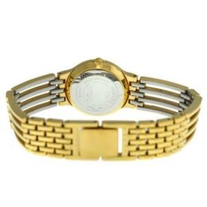 Ladies Movado Esperanza 84.25.811.ISP Steel Gold Diamond 23MM Quartz Watch