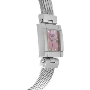 Ladies' Charriol Celtic CELS.71.173 Steel Diamond Pink MOP 20MM Quartz Watch